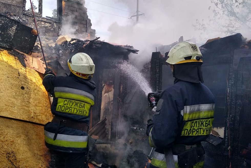В Днепропетровской области произошел пожар в дачном кооперативе, - ФОТО, ВИДЕО, фото-6