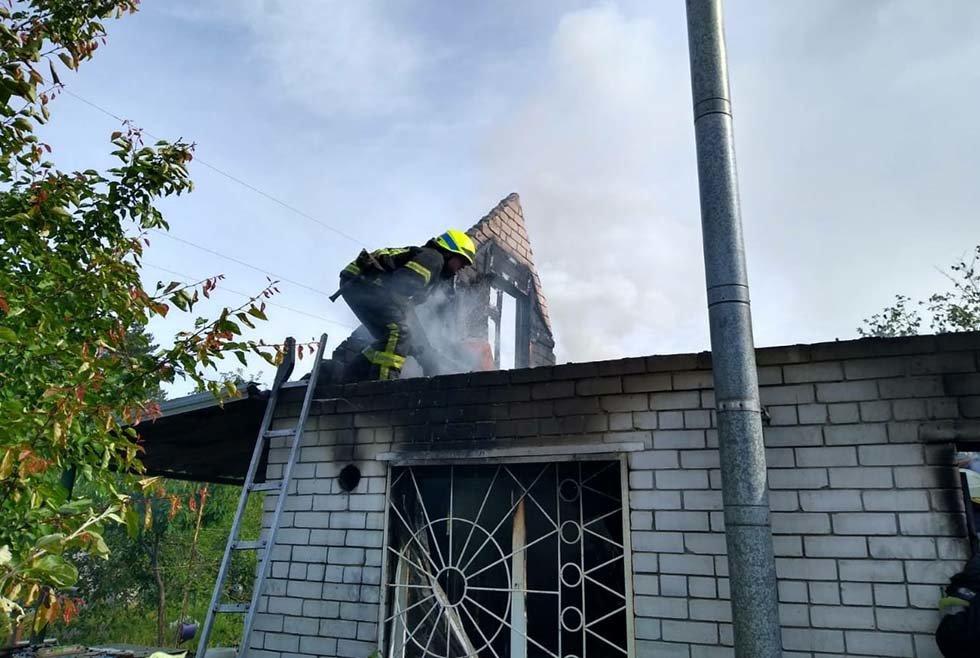 В Днепропетровской области произошел пожар в дачном кооперативе, - ФОТО, ВИДЕО, фото-5