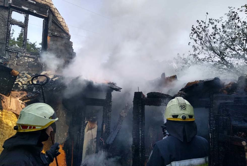 В Днепропетровской области произошел пожар в дачном кооперативе, - ФОТО, ВИДЕО, фото-1