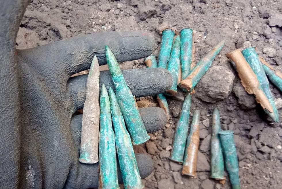 На Днепропетровщине обнаружили 3 устаревших снаряда и 16 боеприпасов, - ФОТО, фото-4