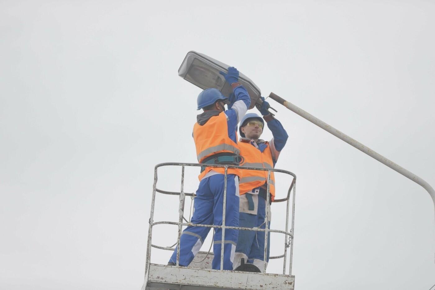 В Днепре продолжают модернизировать уличное освещение, - ФОТО, фото-3