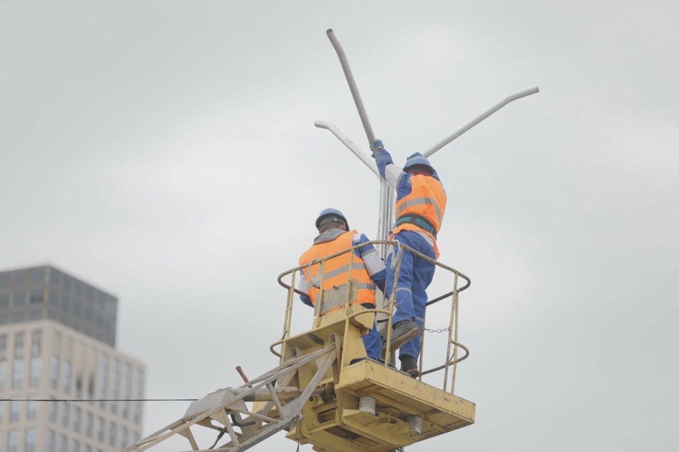 В Днепре продолжают модернизировать уличное освещение, - ФОТО, фото-9