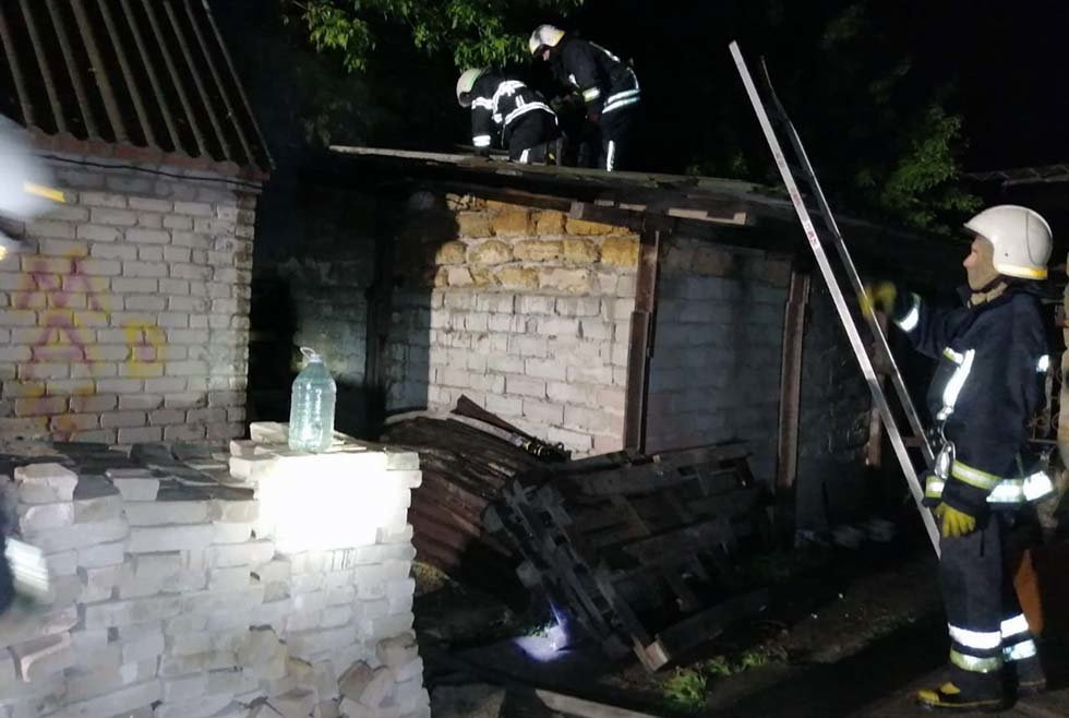 На Днепропетровщине во время пожара погиб мужчина, - ФОТО, фото-1