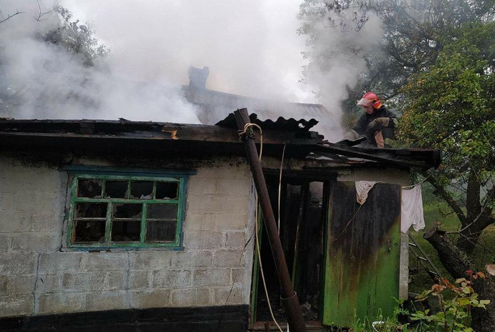На Днепропетровщине горела летняя кухня, - ФОТО, фото-4