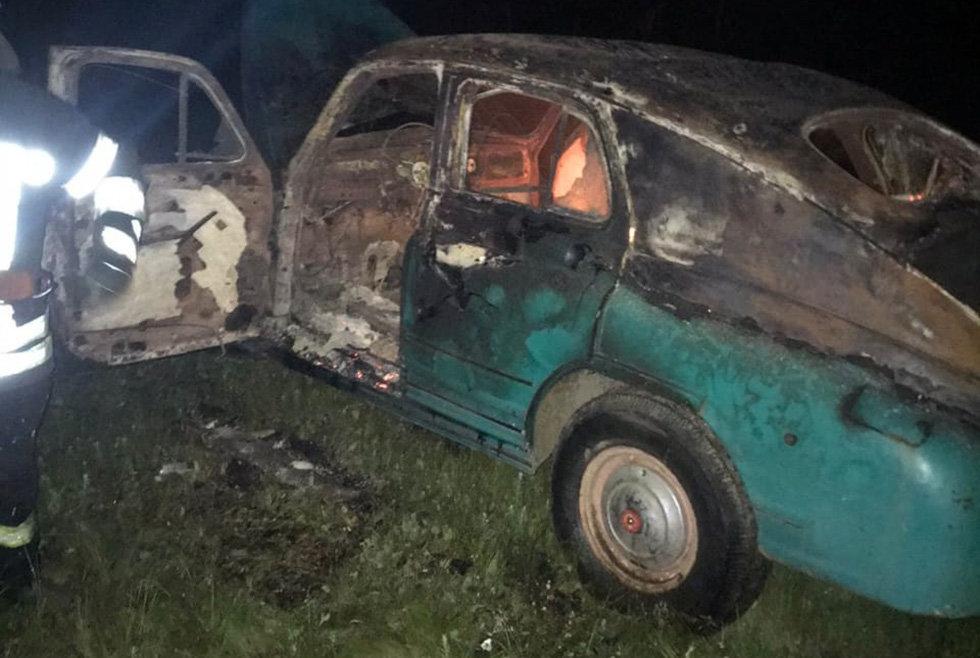 В Днепропетровской области загорелся автомобиль на стоянке, - ФОТО, фото-4