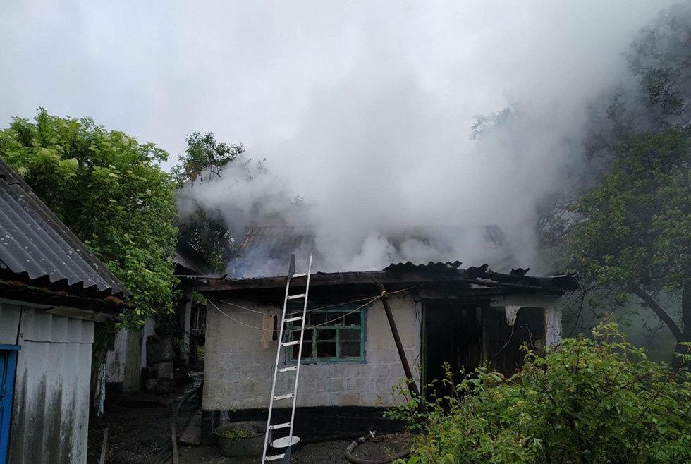 На Днепропетровщине горела летняя кухня, - ФОТО, фото-3