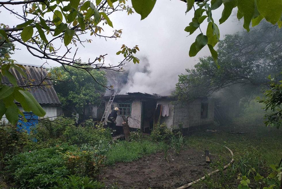 На Днепропетровщине горела летняя кухня, - ФОТО, фото-2