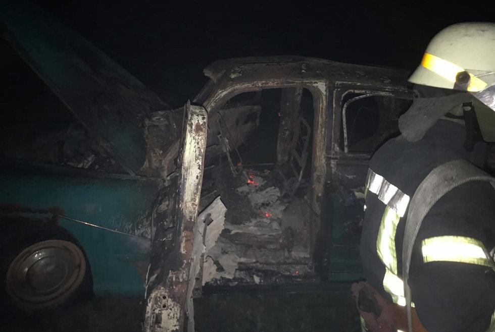 В Днепропетровской области загорелся автомобиль на стоянке, - ФОТО, фото-2