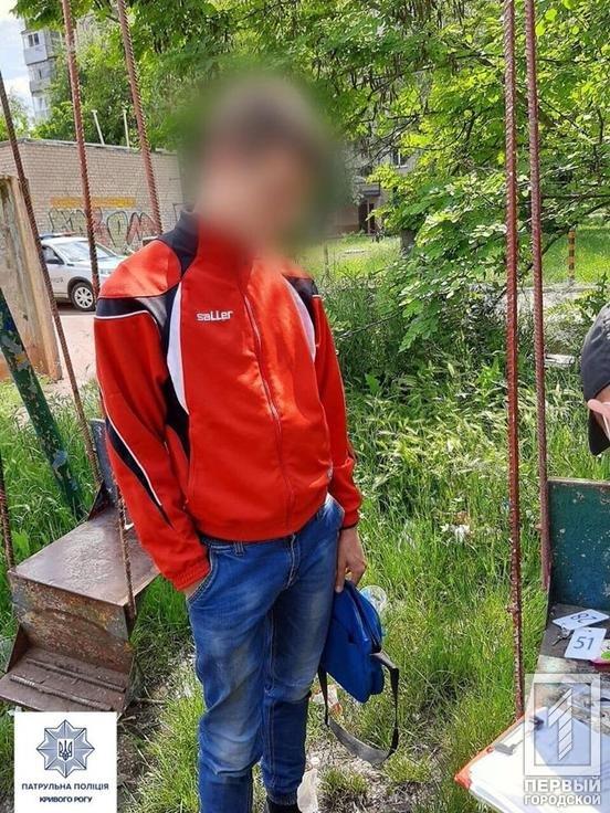 В Днепропетровской области патрульные нашли у 18-летнего 9 слип-пакетов с наркотиками, - ФОТО, фото-2