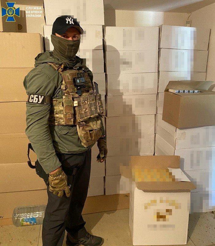 СБУ закрыли фабрику по производству нелегальных сигарет для ЕС в Днепропетровской области, - ФОТО, ВИДЕО, фото-7