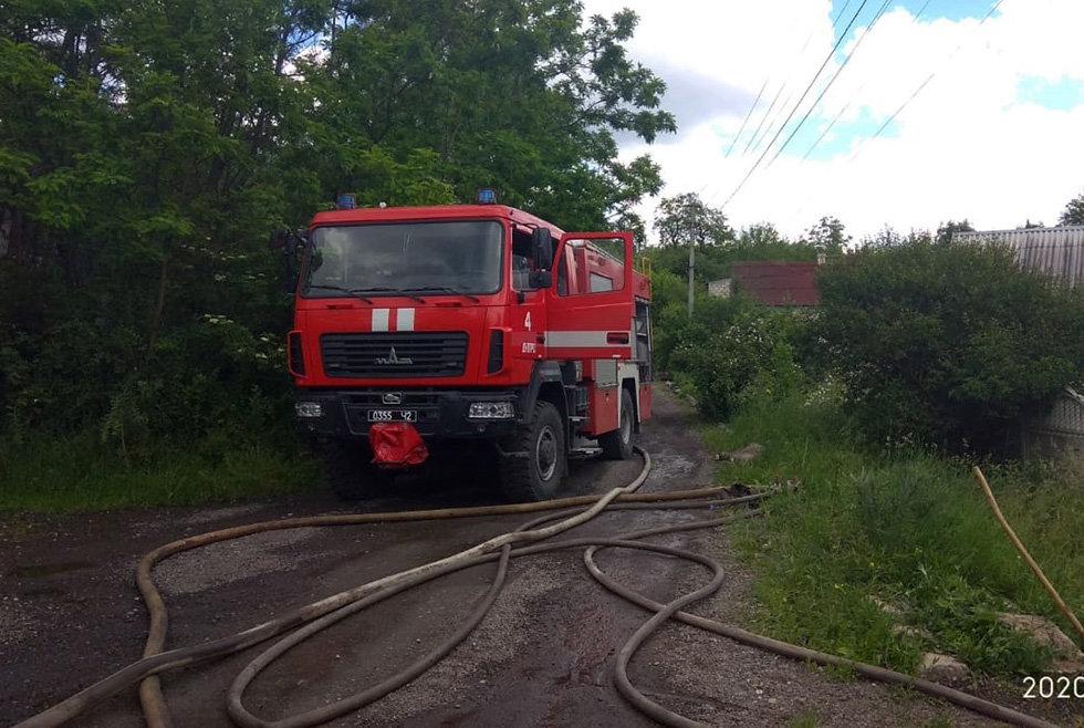 В Днепре горел дом в частном секторе, - ФОТО, фото-3