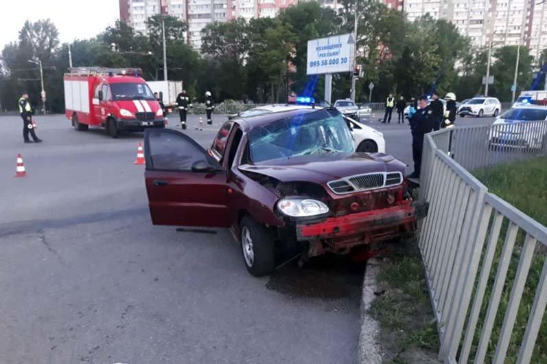 ДТП в Днепре: на Запорожском шоссе в аварии пострадали 4 человека, - ФОТО, фото-2