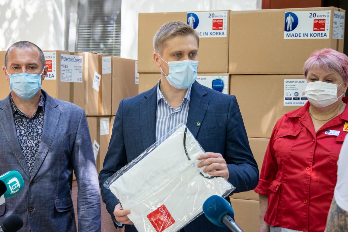 Врачи Днепропетровщины получат более 18 тысяч биозащитных костюмов, - ФОТО, фото-7