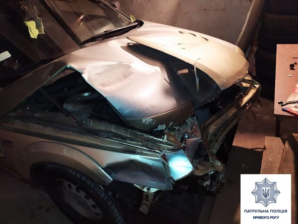 На Днепропетровщине разыскали нетрезвого водителя, который скрылся с места ДТП, - ФОТО, фото-1