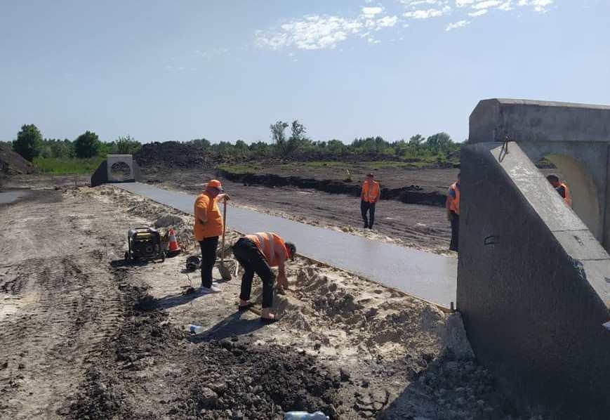 В Днепропетровской области продолжают строить решетиловскую трассу, - ФОТО, фото-2