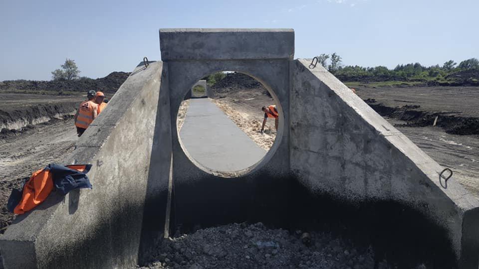 В Днепропетровской области продолжают строить решетиловскую трассу, - ФОТО, фото-4