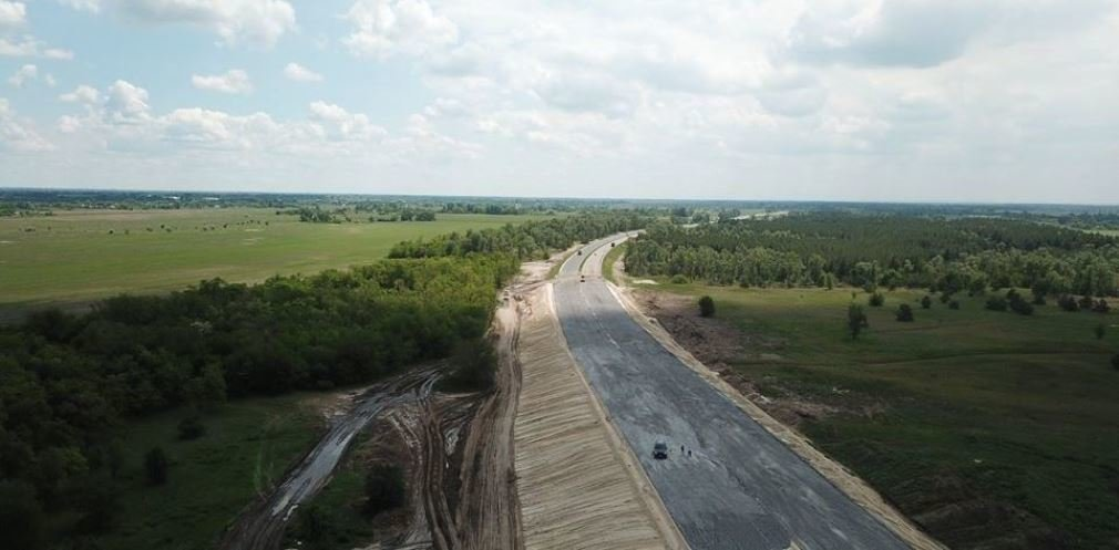 В Днепропетровской области продолжают строить решетиловскую трассу, - ФОТО, фото-1