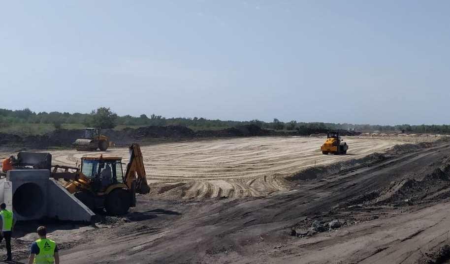 В Днепропетровской области продолжают строить решетиловскую трассу, - ФОТО, фото-7