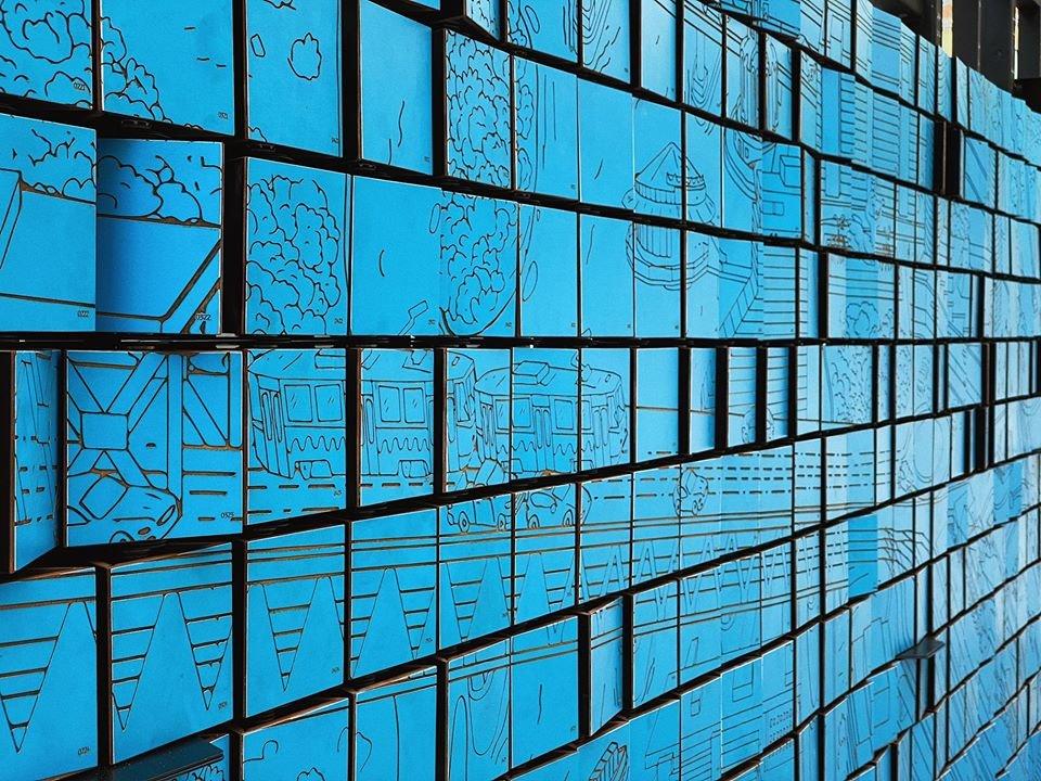 В центре Днепра установили интерактивный арт-объект, - ФОТО, фото-5