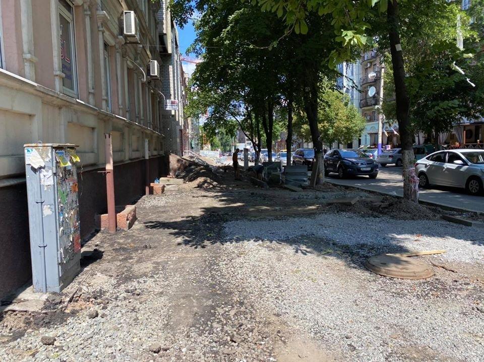 Ремонтные работы: в центре Днепра обновляют парковочные места, - ФОТО, фото-5