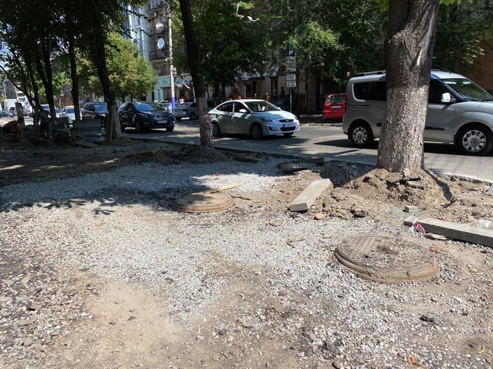 Ремонтные работы: в центре Днепра обновляют парковочные места, - ФОТО, фото-6