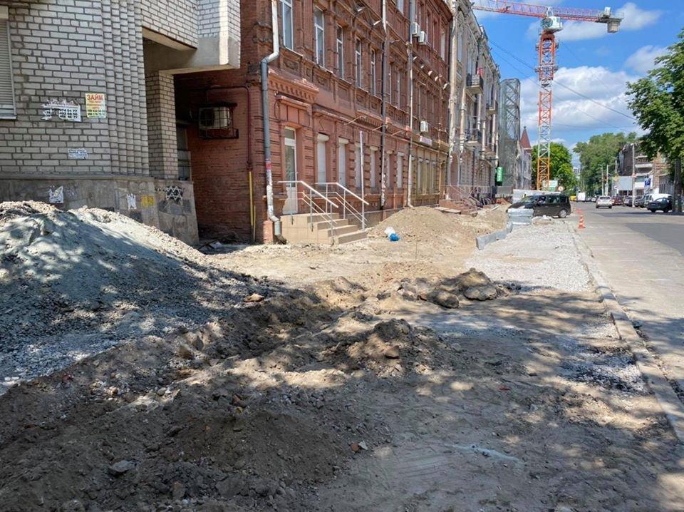Ремонтные работы: в центре Днепра обновляют парковочные места, - ФОТО, фото-2