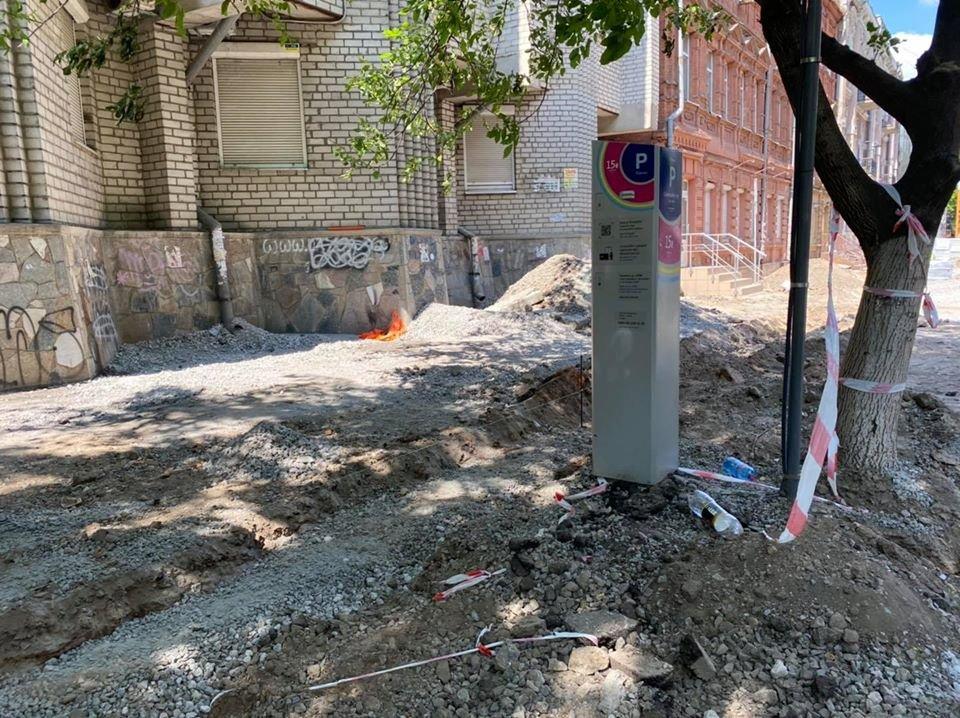 Ремонтные работы: в центре Днепра обновляют парковочные места, - ФОТО, фото-4