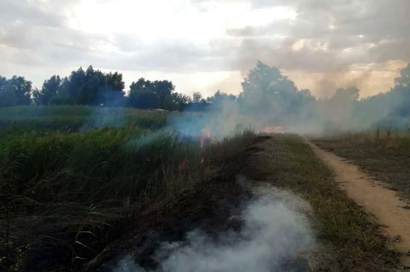 """""""Чрезвычайная опасность"""": за сутки в Днепропетровской области произошло 37 пожаров, - ФОТО, фото-1"""