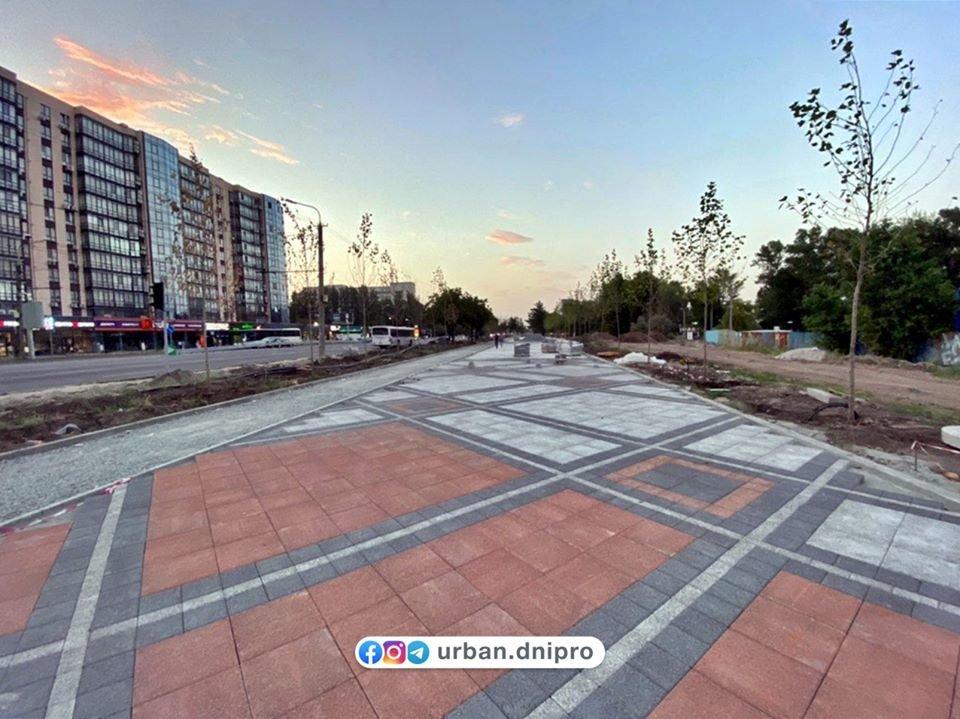 В Днепре продолжается капитальный ремонт на Набережной Победы, - ФОТО, фото-1