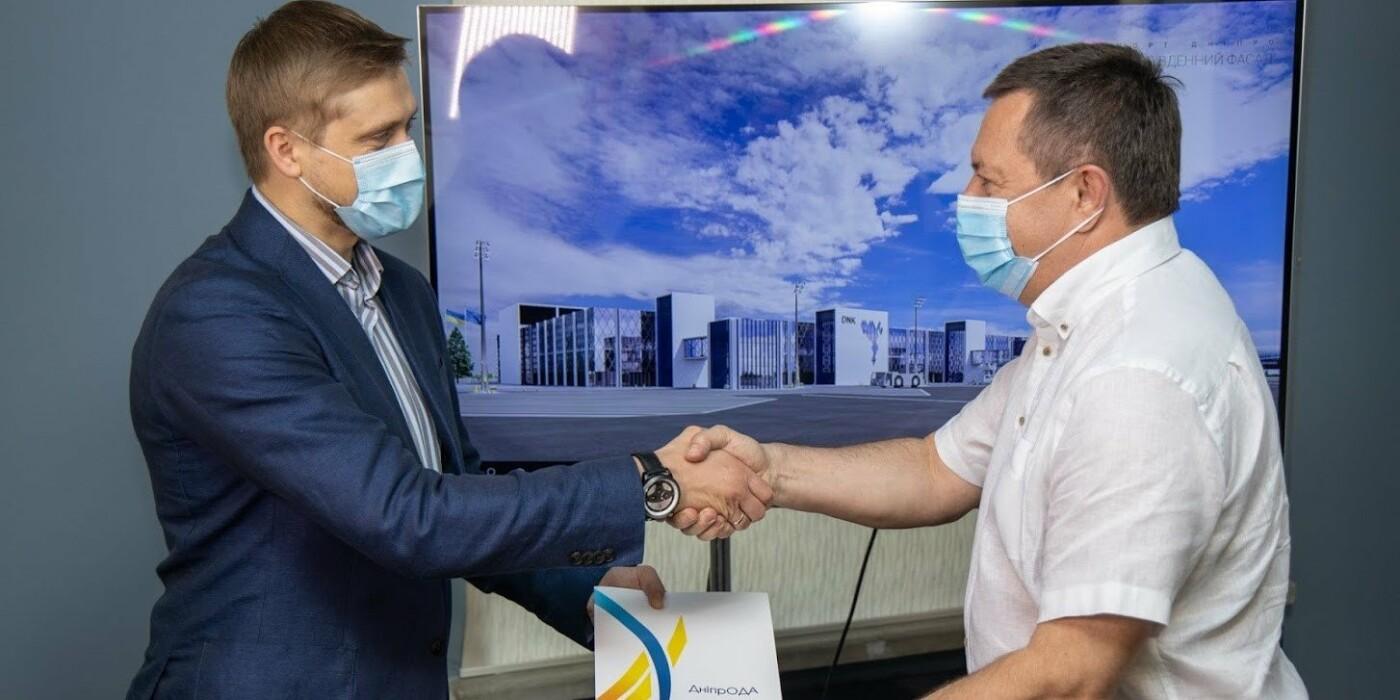 Компания, которая построит аэропорт под Днепром, получила землю в аренду, фото-1