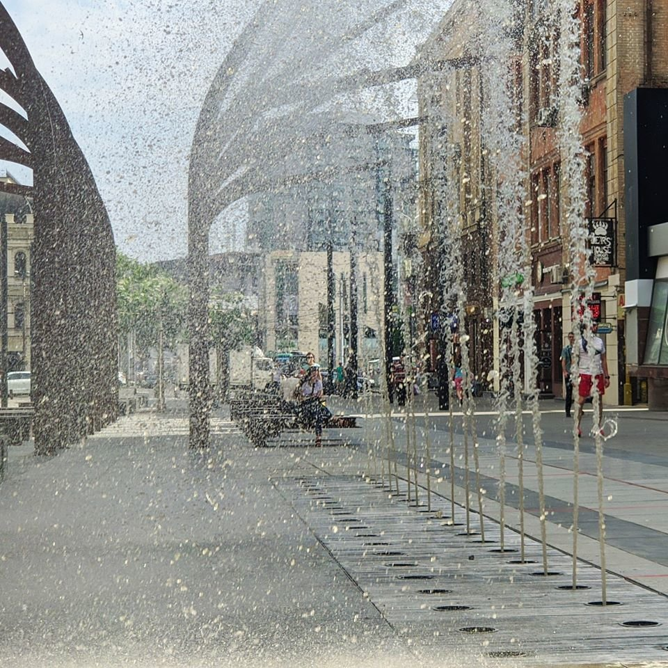В центре Днепра тестируют фонтаны, - ФОТО, фото-1