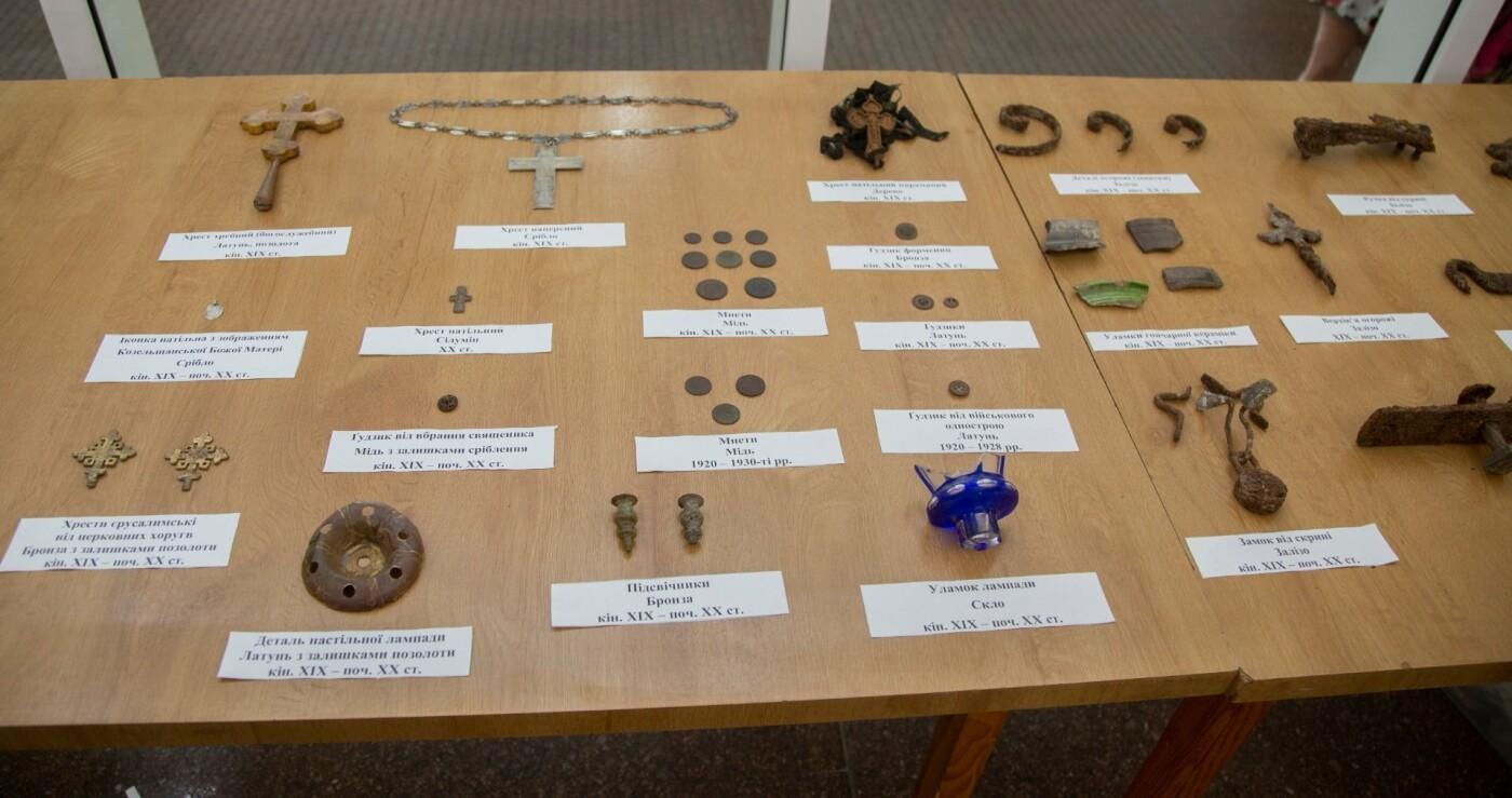 В Днепре продемонстрировали артефакты с раскопок церкви Лазаря, - ФОТО, фото-1