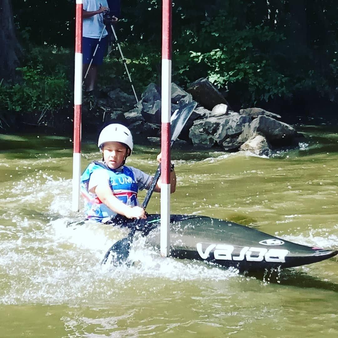 Юные спортсмены из Днепра стали чемпионами Украины по гребному слалому, - ФОТО, фото-2