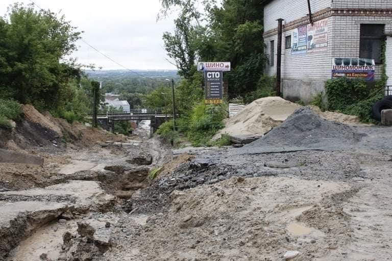 В Днепре на Крестьянском спуске в третий раз за два месяца размыло дороги, - ФОТО, фото-3