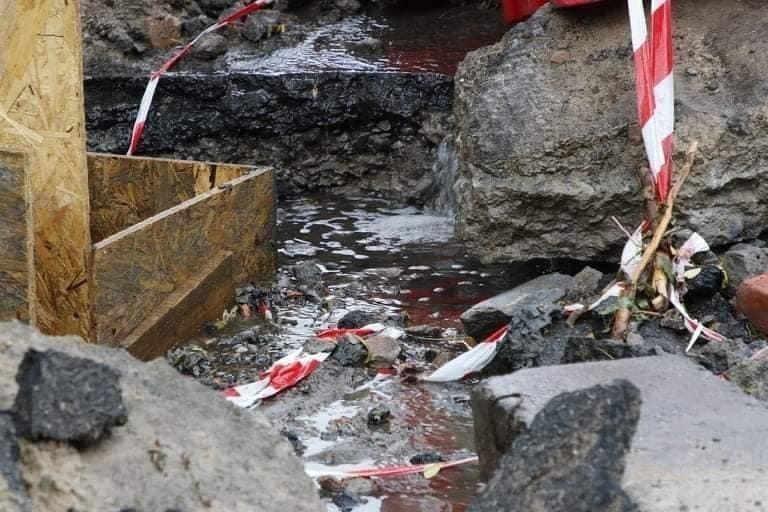 В Днепре на Крестьянском спуске в третий раз за два месяца размыло дороги, - ФОТО, фото-1