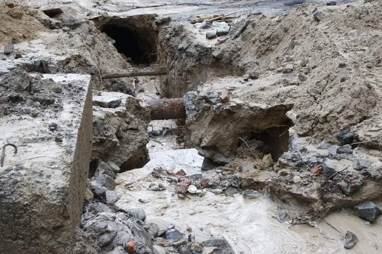 В Днепре на Крестьянском спуске в третий раз за два месяца размыло дороги, - ФОТО, фото-5
