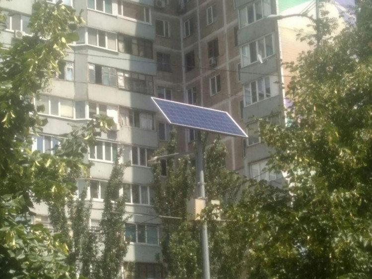 В Днепре на одной из улиц установили солнечные панели, - ФОТО, фото-2