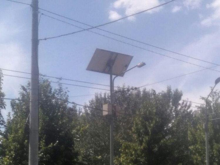 В Днепре на одной из улиц установили солнечные панели, - ФОТО, фото-3