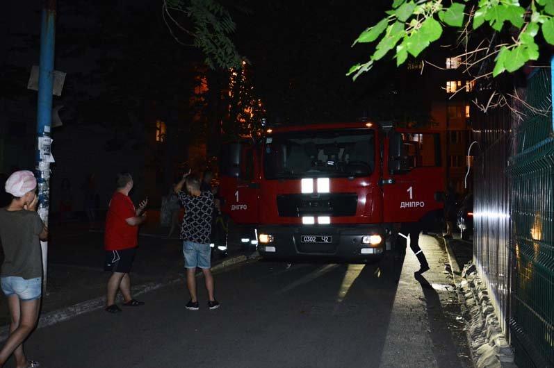 В Днепре горело студенческое общежитие, - ФОТО, фото-1
