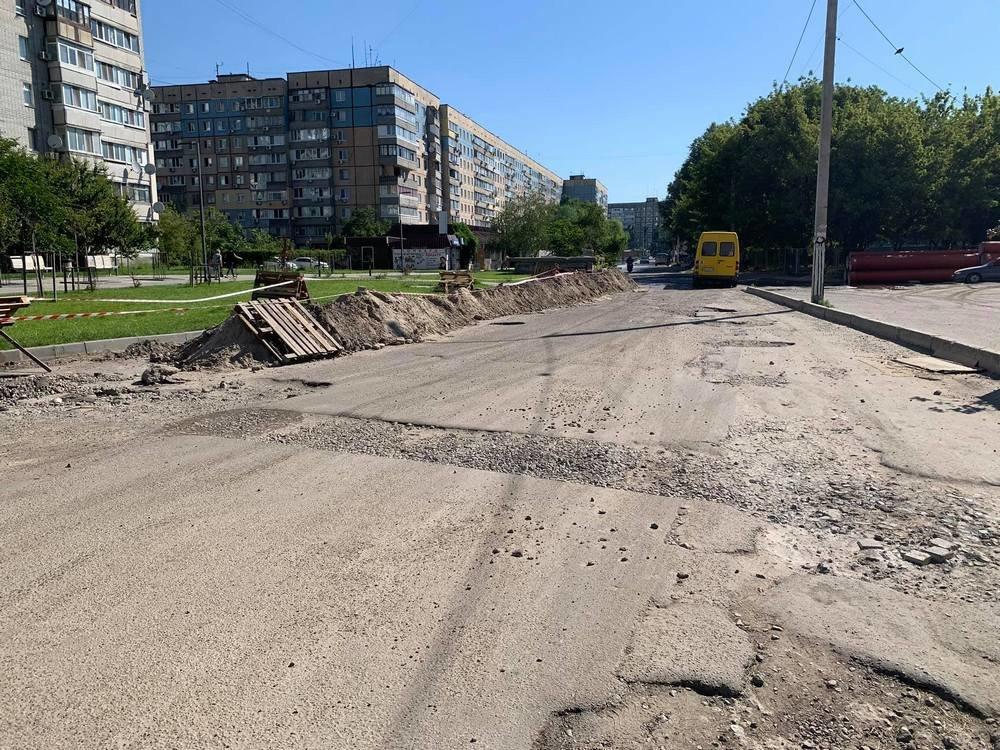 В Днепре проходят дорожные ремонтные работы на ж/м Парус, - ФОТО, фото-7