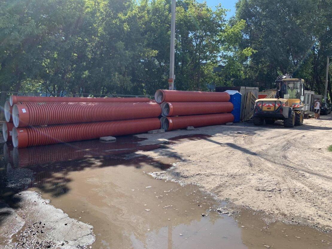 В Днепре проходят дорожные ремонтные работы на ж/м Парус, - ФОТО, фото-3