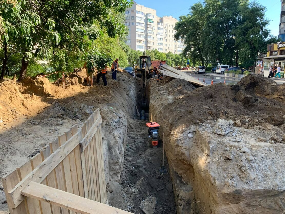 В Днепре проходят дорожные ремонтные работы на ж/м Парус, - ФОТО, фото-1