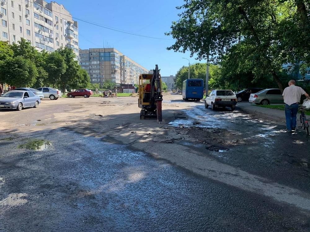 В Днепре проходят дорожные ремонтные работы на ж/м Парус, - ФОТО, фото-10