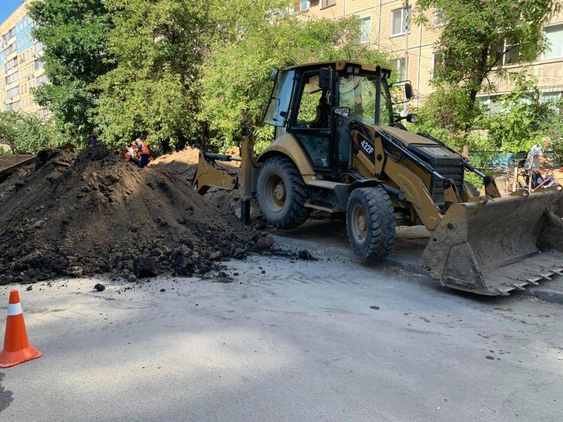 В Днепре проходят дорожные ремонтные работы на ж/м Парус, - ФОТО, фото-5