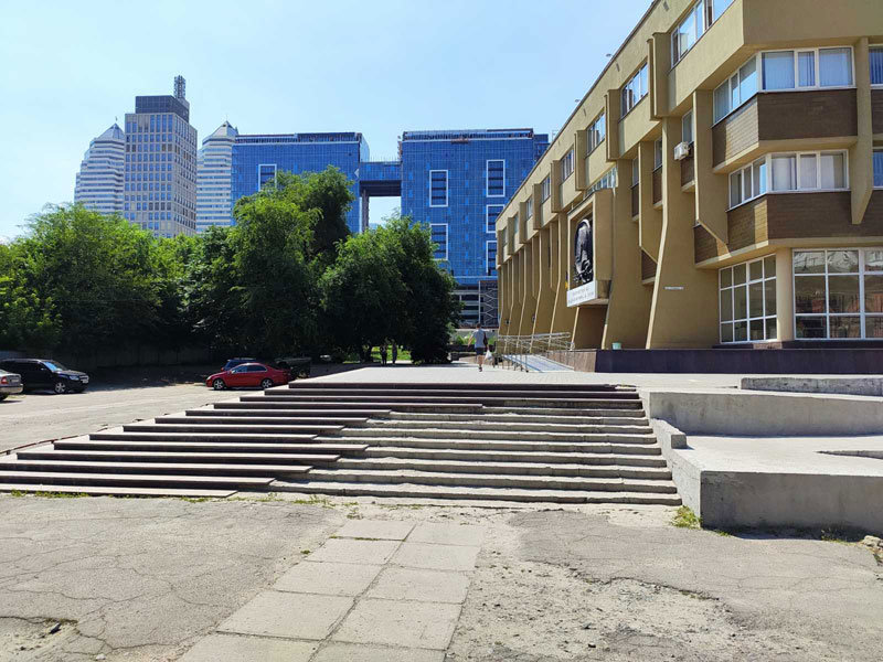 В Днепре обновляют территорию Академии музыки, - ФОТО, фото-3
