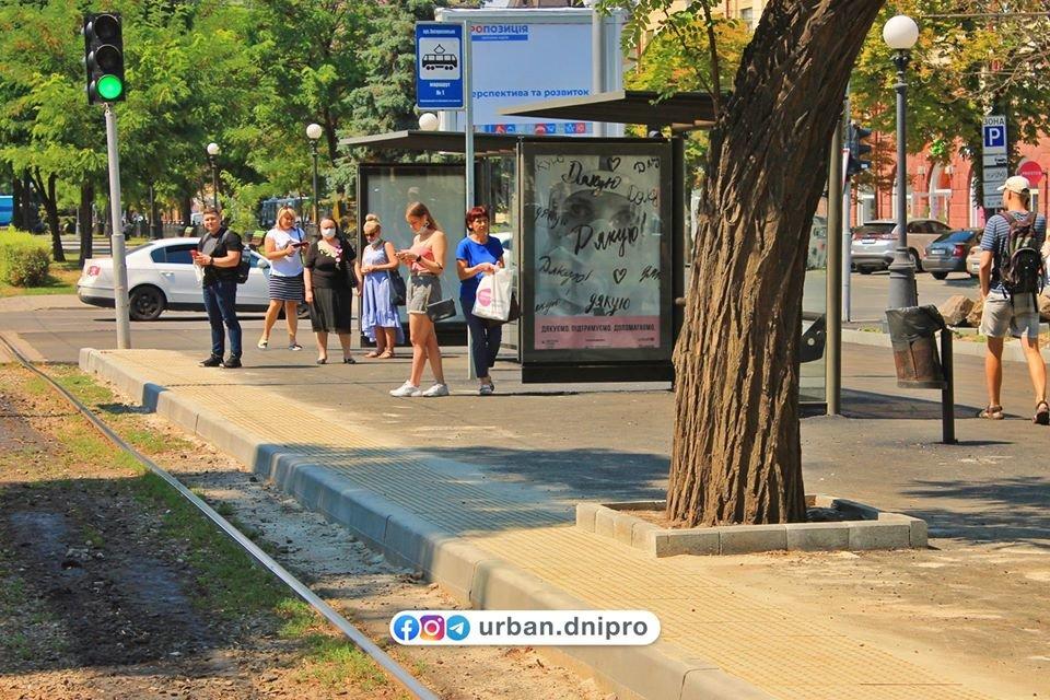 В Днепре появилась первая трамвайная посадочная платформа, - ФОТО, фото-6