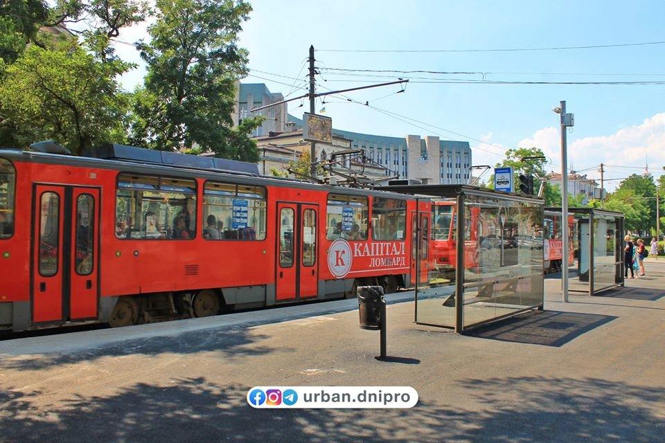 В Днепре появилась первая трамвайная посадочная платформа, - ФОТО, фото-10