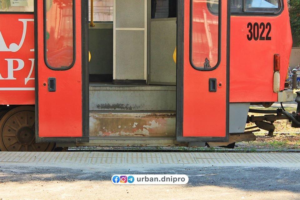 В Днепре появилась первая трамвайная посадочная платформа, - ФОТО, фото-8
