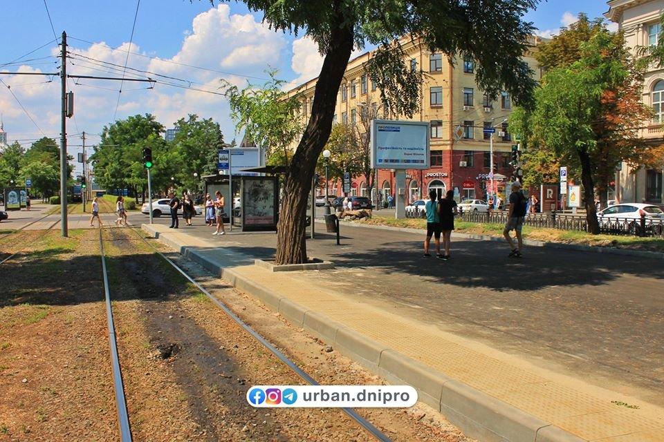 В Днепре появилась первая трамвайная посадочная платформа, - ФОТО, фото-5