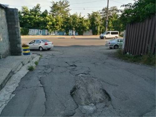 Днепряне просят установить светофор на опасном перекрестке, - КАРТА, фото-1